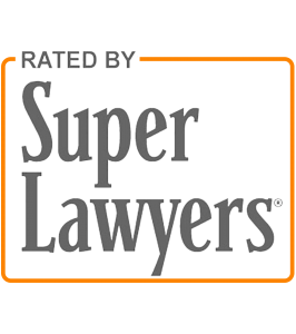 Super Lawyers rates the top 5% of Attorneys recognizing the best lawyers by practice area.